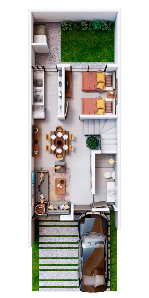 casas en venta en guadalajara cumbres altosur planta baja modelo galicia